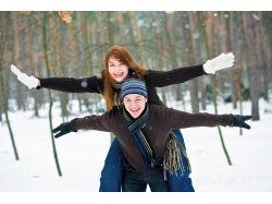 Влюбленная пара фото зима 2