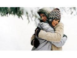 Влюбленная пара фото зима 4