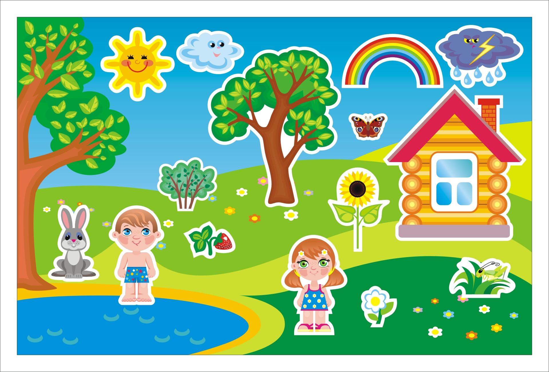 Картинки поры года детям