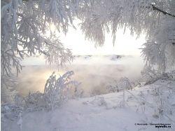 Фото зима обои на рабочий стол