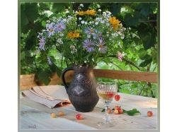 Фото цветы летом 1