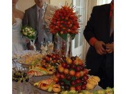 Красиво нарезанные овощи и фрукты фото