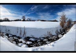 Фото зима пейзаж высокого разрешения 3