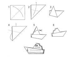 Картинки кораблик бумажный 6