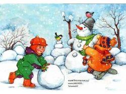 Зимние забавы дети фото 4