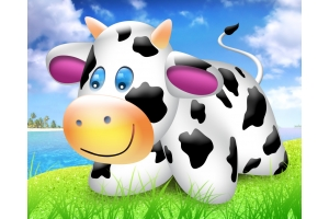 Картинки корова