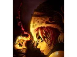Креативные фото с бенгальским огнем 6