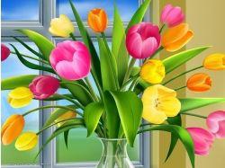 Декупаж картинки цветы колокольчики 4