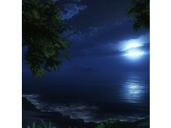 Картинки романтика луна