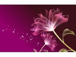 Прозрачные картинки цветы