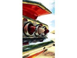 Картинки с тюнингованными ретро авто