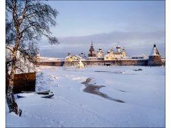 Фото зима в монастыре