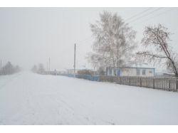 Фото зима деревни