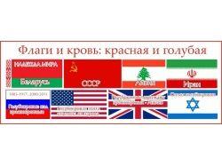 Флаг страны белый красный