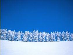 Фото зима, снег