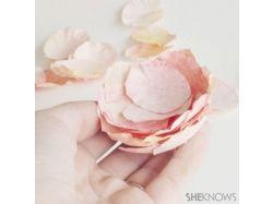 Все фото цветы из креп-бумаги