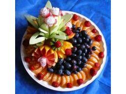 Как красиво уложить фрукты фото