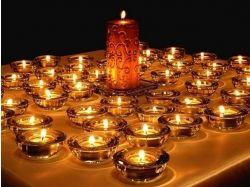 Горящие свечи романтика картинки