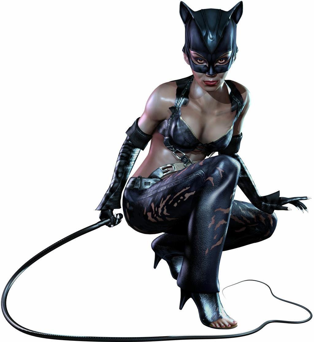 Женщина Кошка Бьёт Раба Хлыстом