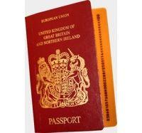 Английский паспорт фото