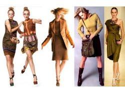 Цветотип осень фото одежды