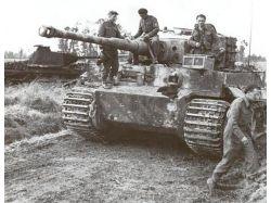 Подбитые тигры фото