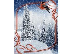 Картинки зима-январь, снегопад