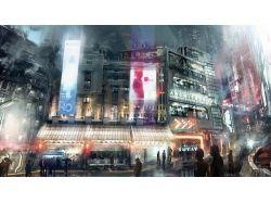 Фэнтези картинки город