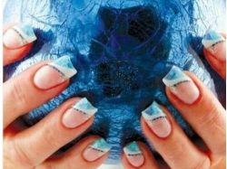 Ресунки на ногтях осень фото