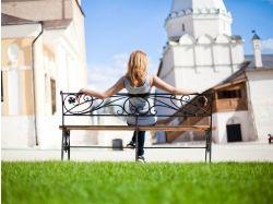 Креативные фото блондинок со спины