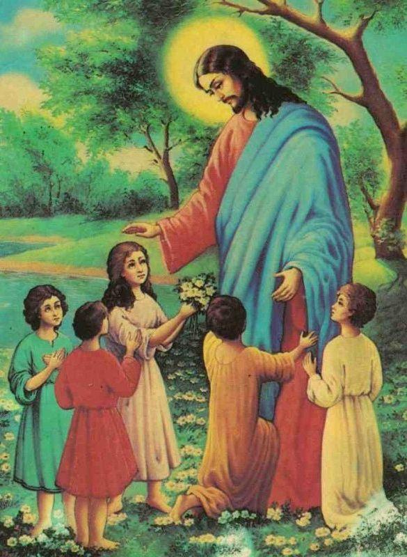 Иисус христос картинки для детей, надписью днем рождения