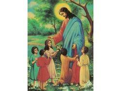 Иисус и дети картинки